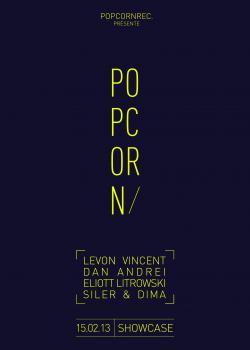 Popcorn Records au Showcase avec Levon Vincent