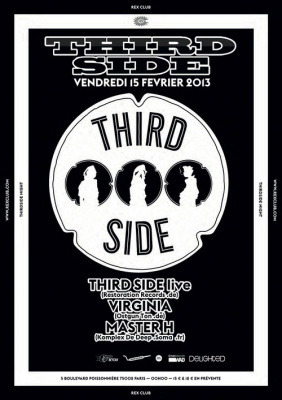 Thrid Side & Friends au Rex Club