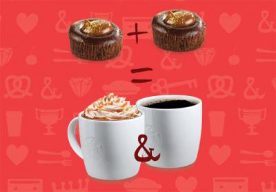 Starbucks célèbre la Saint Valentin