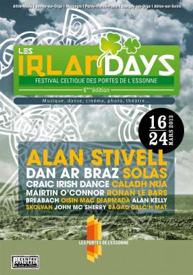 Les Irlandays 2013 : le festival celtique des portes de l'Essonne