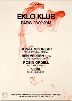 Eklo Klub au Showcase avec Sonja Moonear