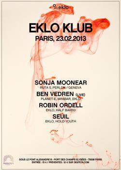 Eklo Klub au Showcase avec Sonja Moonear