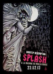 Splash à la Machine du Moulin Rouge avec Dodge & Fuski