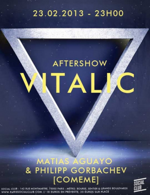 Vitalic Aftershow au social Club