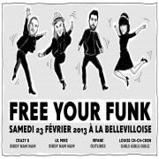 Free Your Funk à la Bellevilloise avec Crazy B, Lil Mike, Irfane
