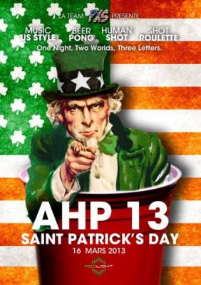 L'American Home Party célèbre la Saint Patrick 2013 au Redlight