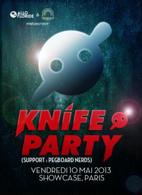 Knife Party débarque au Showcase en mai 2013