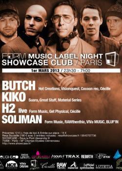 Form Music au Showcase avec Butch et Kiko