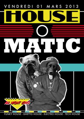 House'O'Matic au Nouveau Casino avec Don Rimini