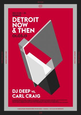 Detroit, Now & Then au Rex Club avec Carl Craig