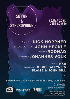 SNTWN & Syncrophone à la Machine du Moulin Rouge