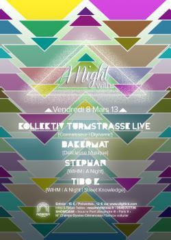 A night with… Kollektiv Turmstrasse au Showcase