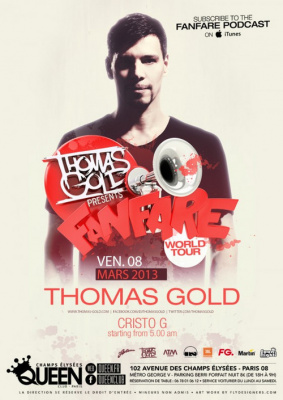 Thomas Gold au Queen