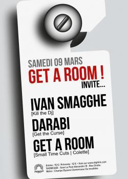 Get A Room invite Ivan Smagghe au Showcase