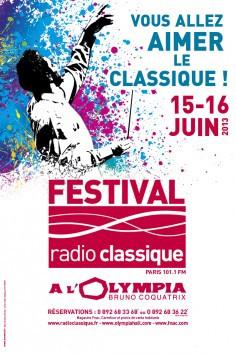 Le Festival Radio Classique 2013 débarque à l'Olympia