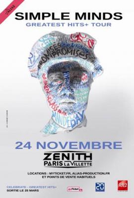 Simple Minds au Zénith de Paris en novembre 2013