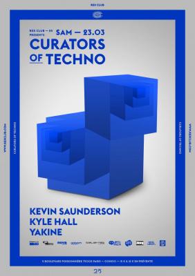 "Rex club ""25 years"" présente : Curators of Techno"