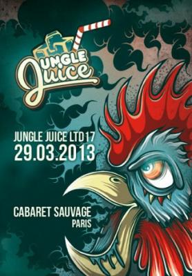Jungle Juice LTD au Cabaret Sauvage avec Delta Heavy