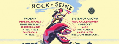Rock En Seine 2013 : Nine Inch Nails, The Bloody Beetroots, Vitalic … nouveaux noms confirmés !