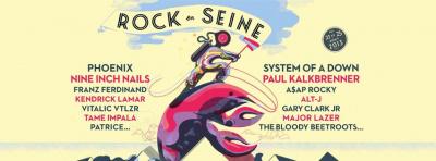 Rock En Seine 2013 : Nine Inch Nails, The Bloody Beetroots, Vitalic … nouveaux noms confirmés !