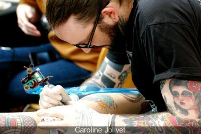 Report : Le Mondial du Tatouage au 104 à Paris