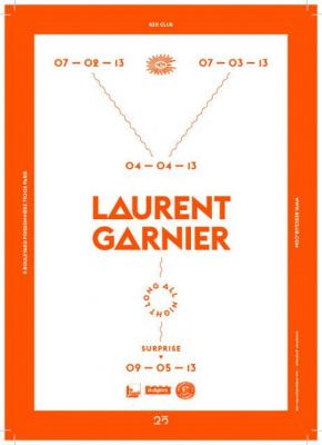 Laurent Garnier All Night Long pour les 25 ans du Rex Club