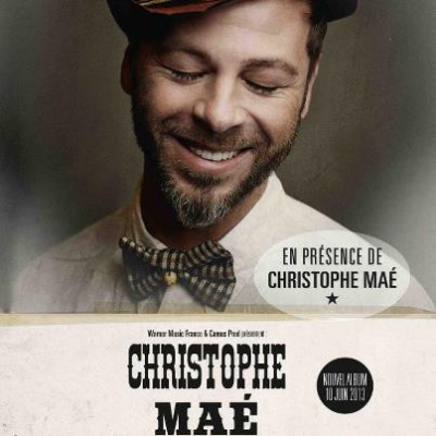 Christophe Maé au Grand Rex pour la retransmission de son concert inédit