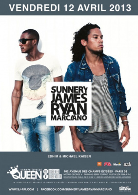 Sunnery James & Ryan Marciano au Queen Club Paris