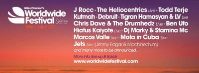 Guide des festivals 2013 : le Worldwide Festival à Sète