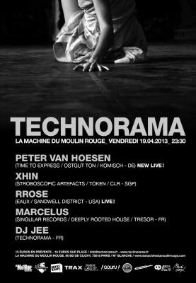 Technorama à la Machine du Moulin Rouge avec Peter Van Hoesen