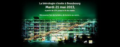 Biérologie et Marché des Saveurs au Centre Pompidou