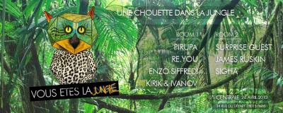 Une Chouette dans la jungle à La Centrale