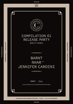 Correspondant #1 Release Party au Rex Club