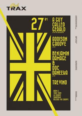 Club Trax à la Machine du Moulin Rouge avec Addison Groove