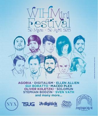 Wihmini Festival 2013 au Showcase : Day 10 avec Joris Delacroix