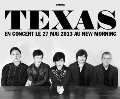 Texas en concert au New Morning en Mai 2013
