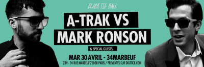A-Trak vs Mark Ronson au 34 Marboeuf
