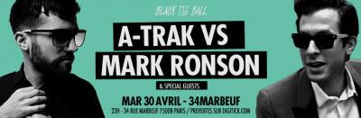 A-Trak vs Mark Ronson au 34 Marboeuf