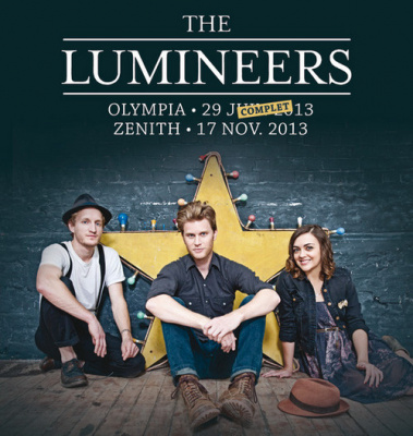 The Lumineers en concert au Zénith de Paris en novembre 2013