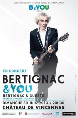 Louis Bertignac en concert au Château de Vincennes