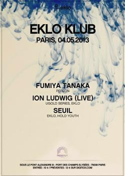 Eklo Klub au Showcase avec Fumiya Tanaka