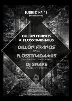 Dillon Francis X Flosstradamus au Showcase