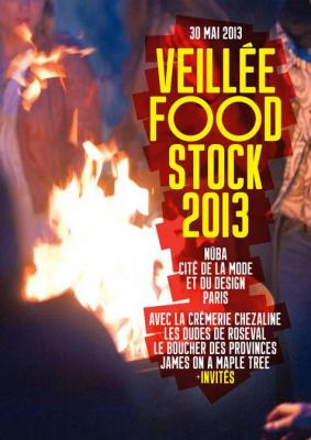 Veillée Foodstock 2013 au Nüba, sur le toit de la Cité de la Mode et du Design
