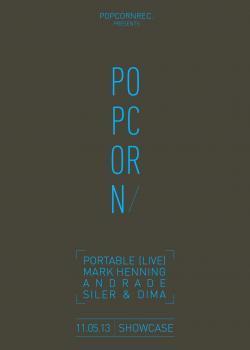 Popcorn Records au Showcase avec Portable en live