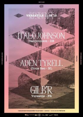 Versatile Residency au Rex Club avec Alden Tyrell