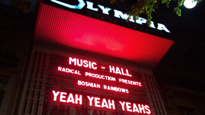 Report : Yeah Yeah Yeahs à l'Olympia