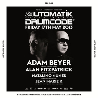 Automatik Limited Speciale Drumcode Night au Rex Club
