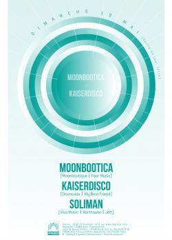 Moonbootica X Kaiserdisco au Showcase