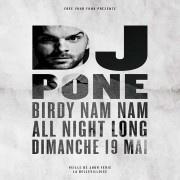 DJ Pone All Night Long à La Bellevilloise