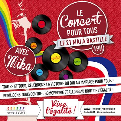 Concert pour tous : Mika en concert gratuit à la Bastille